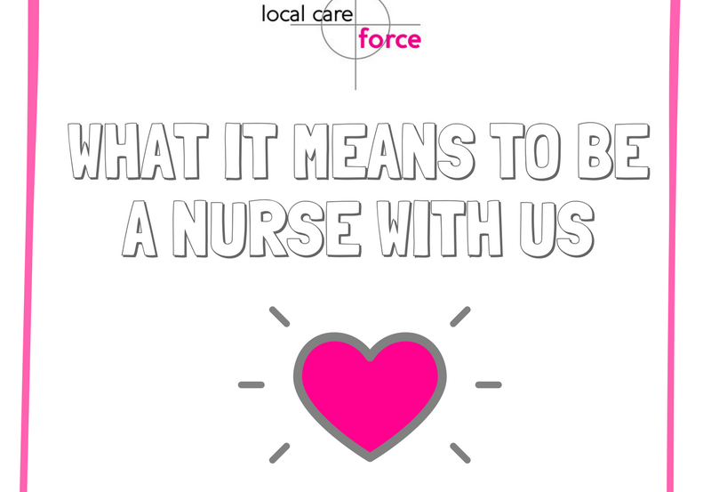 WHAT IT MEANS TO BE AN LCF NURSE