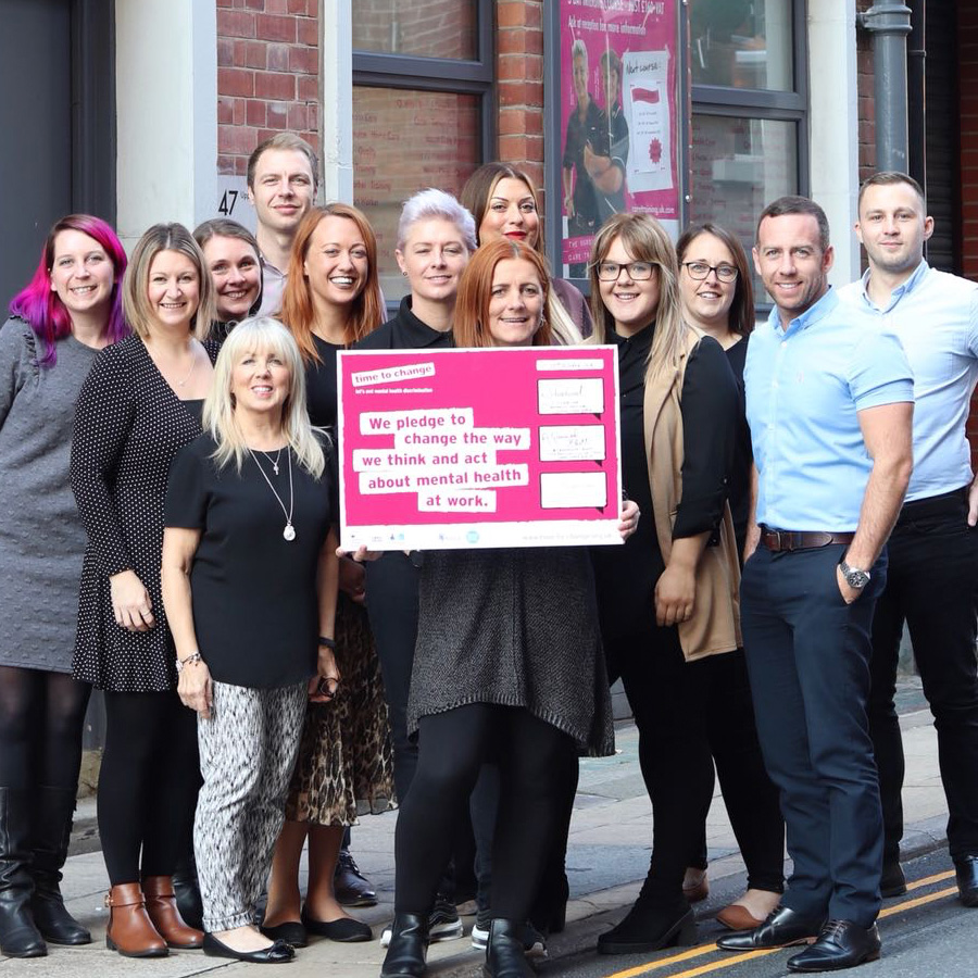 Local Care Force make a pledge for mental health