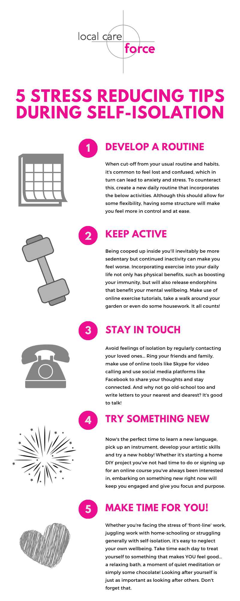 self isolation stress tips infographic-2